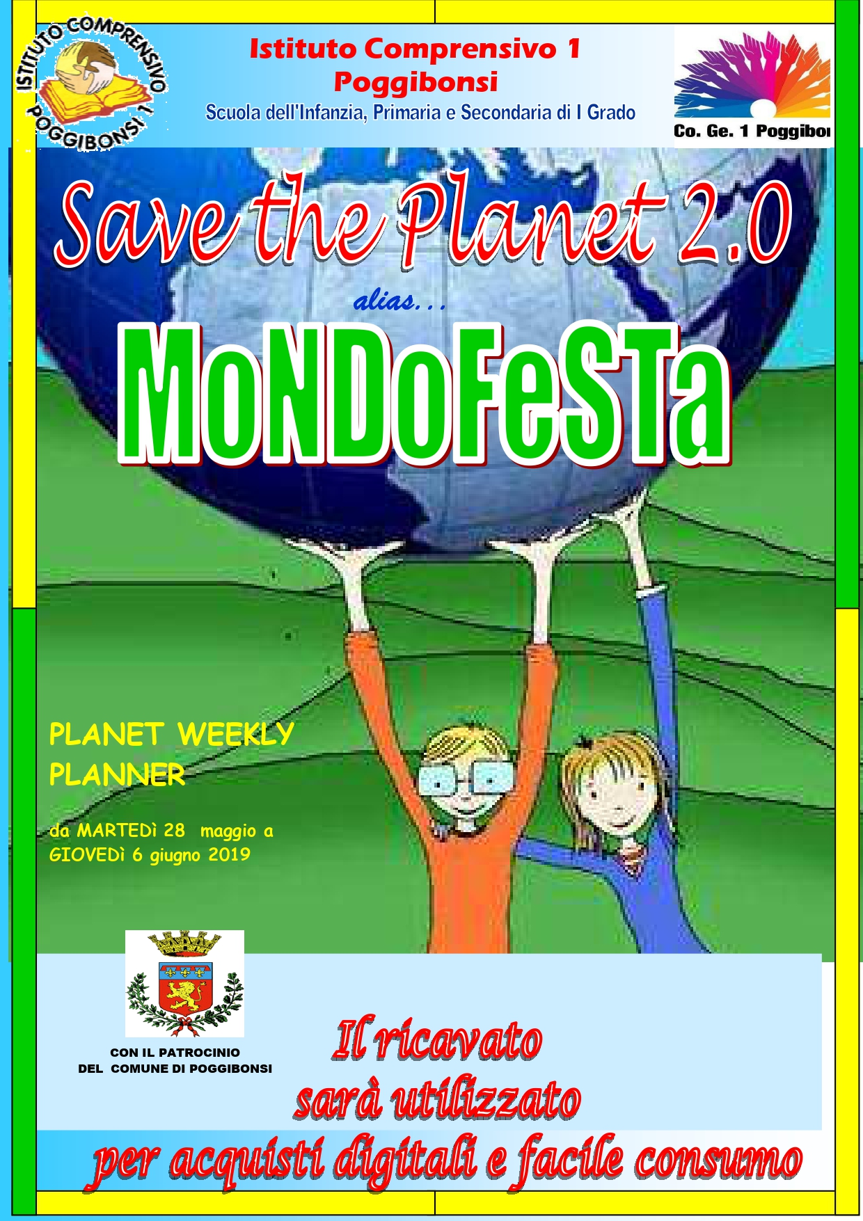 locandina save the planet per volantino page 0001